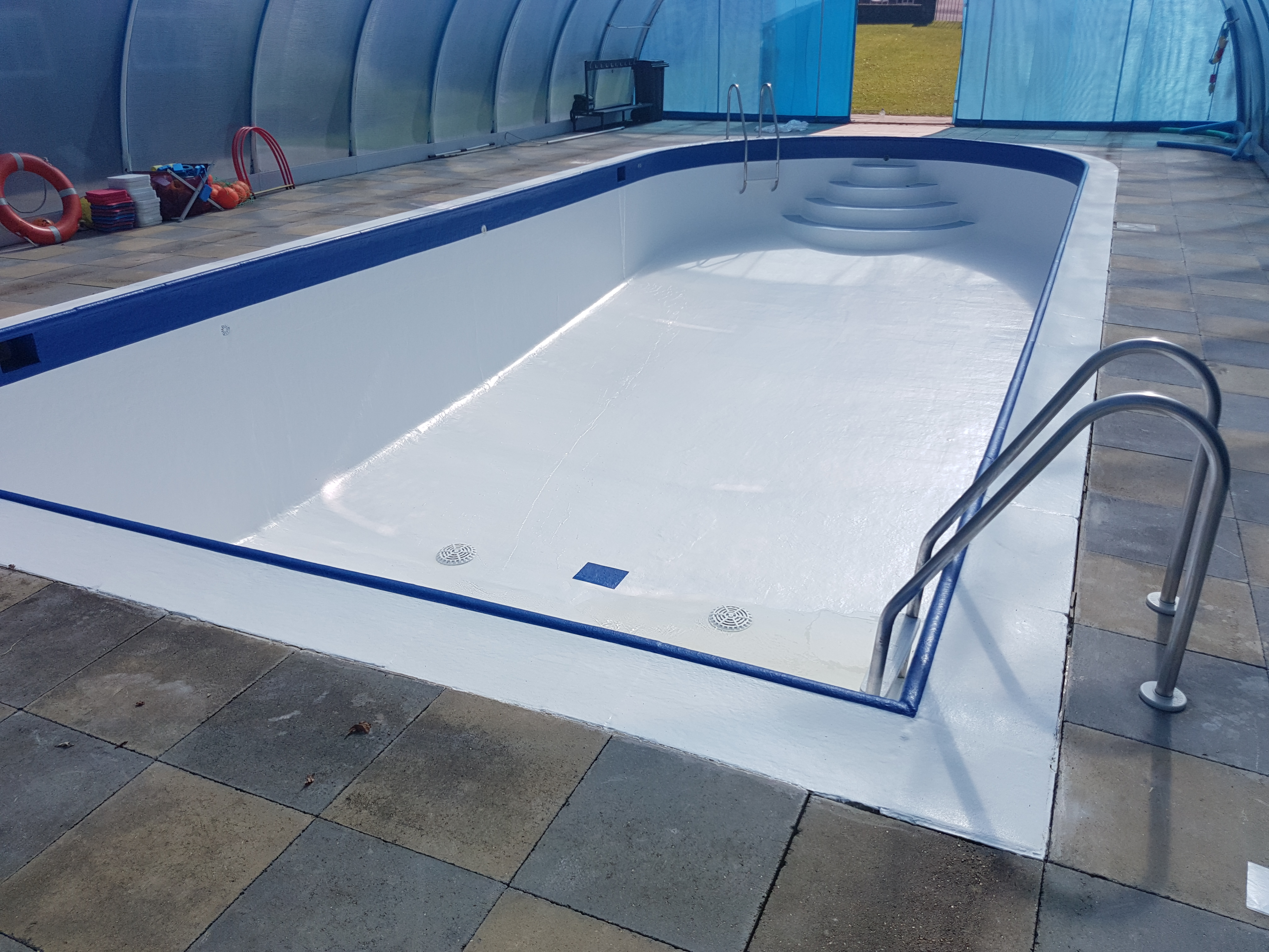 Swimming Pool Renovation West Sussex 1